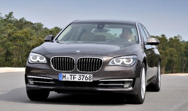 Фото обновленной BMW - 7, 2013