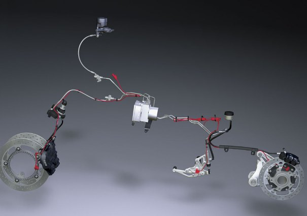 Система ABS  на мотоциклах BMW