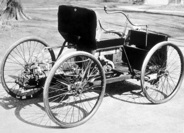 Первый Форд 1896 года