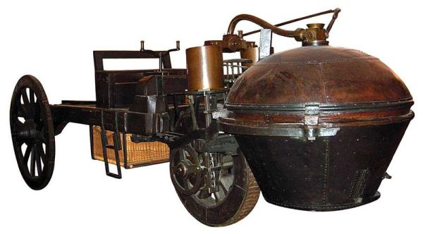 Первая паровая машина