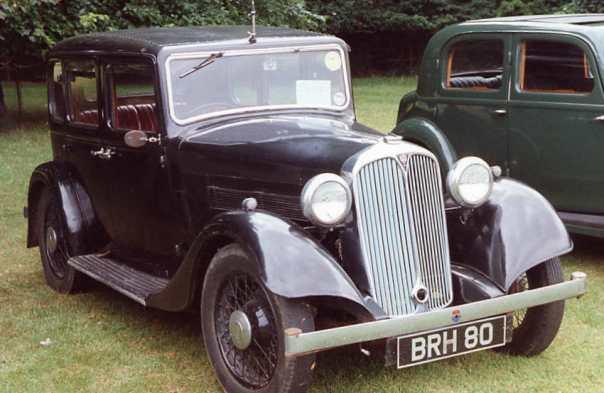 Rover Light Six  1936года