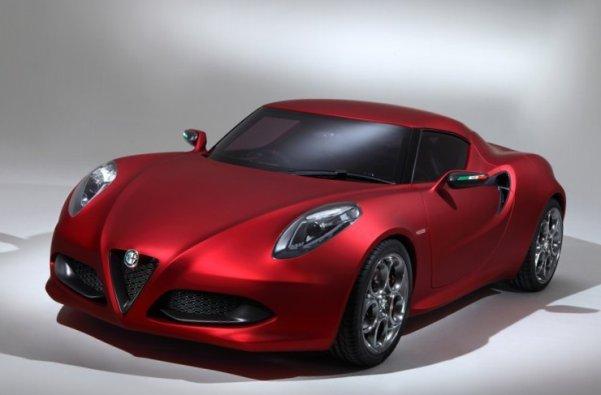 Фото нового автомобиля Alfa Romeo-4c