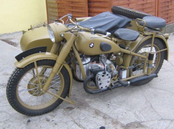 Мотоцикл БМВ Р71 1941 года