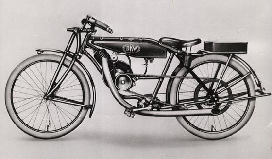 Фото DKW_ Reichsfahrt 1922года