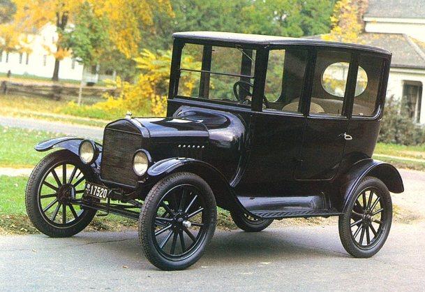 Форд модель Т седан