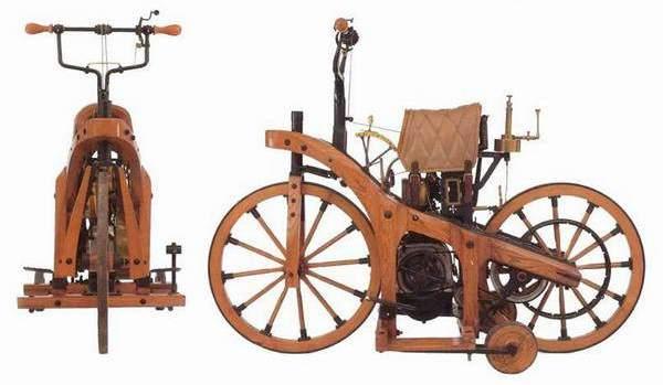 Первый мотоцикл Готлиба Даймлера
