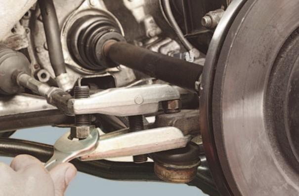 Фото-пример замены наконечников