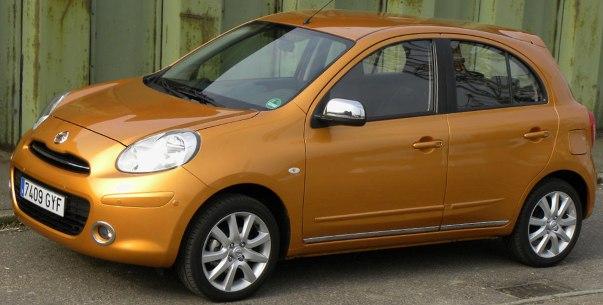 Фото нового Nissan Micra в сотрудничестве с Elle