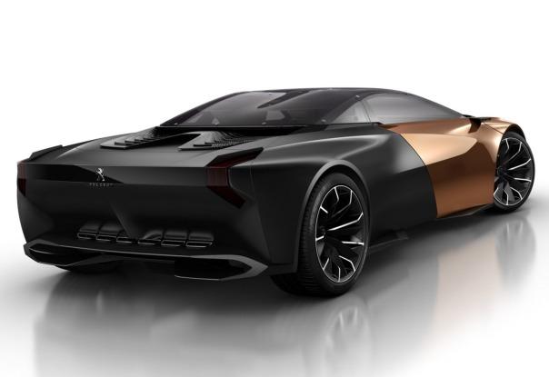 Фото концепткар Peugeot Onyx