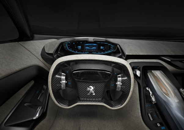 Фото концепткар Peugeot Onyx Салон
