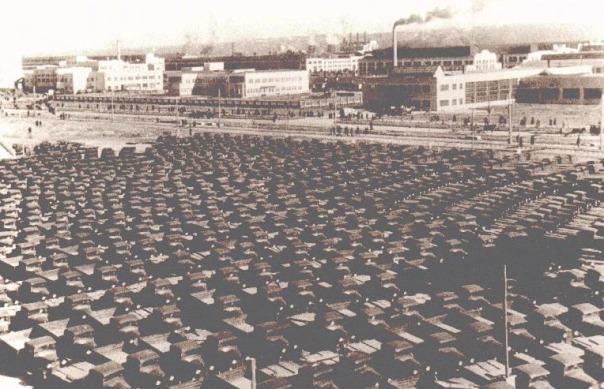 Историческая фотография завода ГАЗ