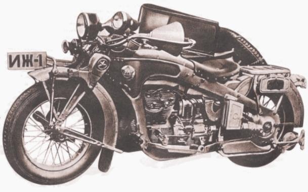 Фото мотоцикла ИЖ-1