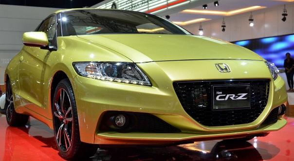 Фото Honda CR-Z Париж 2012