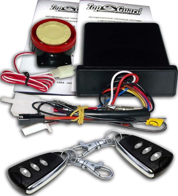 Фото компонентов автомобильной сигнализации