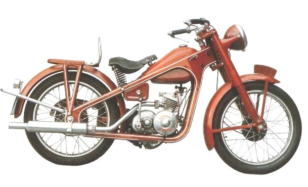 Фото мотоцикла Honda Dream Type D-950