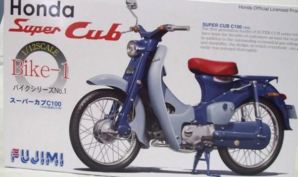 Фото Honda Super-CUB 1958года