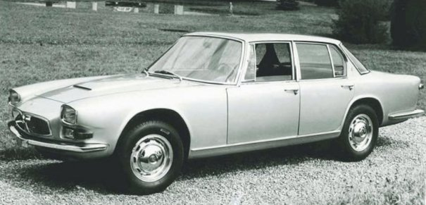 Фото Maserati Quattroporte-Sedan 1963 года