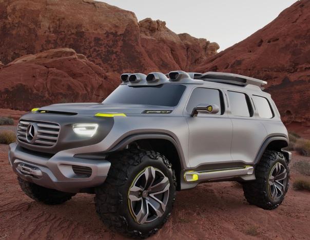 Фото автомобиля Mercedes-Benz Ener-G-Force 2025 года