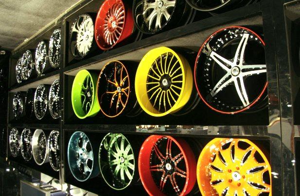 Фотография автомобильных дисков